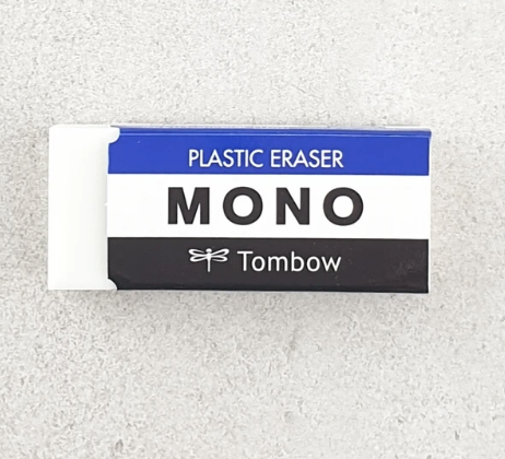 Tombow Plastic Erasers are available in-store and online at The Paintbox, home of the widest range of traditional and progressive Art Supplies in Adelaide. At The PaintBox we source and stock quality art supplies which we import directly. This means that you have access to a greater variety and pay less. These are perfect for any artists from amateur to professional. It is also perfect for any budget size. Check out our loyalty rewards programme, which makes your artistic ambitions achievable. At these prices why not give these a go. Be sure to check out our other fabulous finds on our website and start saving today. Our knowledgeable staff at The PaintBox can guide you through our carefully selected ranges of art supplies for all applications. This is only a small selection of our stock. We sell many brands, weights, and textures, in-store only. Please call 08 8388 7776 to enquire. We offer art tuition too! ALSO THESE TOMBOW MONO ERASERS CAN BE DELIVERED ANYWHERE WITHIN AUSTRALIA OR NEW ZEALAND
