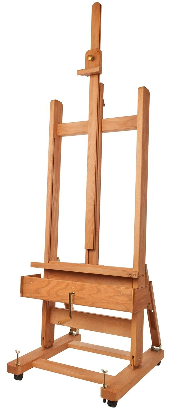 MABEF M-04 Studio easels are available from our warehouse and online at The PaintBox, home of the widest range of traditional and progressive Art Supplies in Adelaide. At The PaintBox we source and stock quality art supplies which we import directly. This means that you have access to a greater variety and pay less. These are perfect for any artists from amateur to professional. They are also perfect for any budget size. Check out our loyalty rewards programme, which makes your artistic ambitions achievable. At these prices why not give these a go. Be sure to check out our other fabulous finds on our website and start saving today. Our knowledgeable staff at The PaintBox can guide you through our carefully selected ranges of art supplies for all applications. This is only a small selection of our stock. We sell many brands, weights, and textures, in-store only. Please call 08 8388 7776 to enquire. We offer art tuition too! MABEF M04 STUDIO EASELS CAN BE DELIVERED ANYWHERE WITHIN AUSTRALIA OR NEW ZEALAND