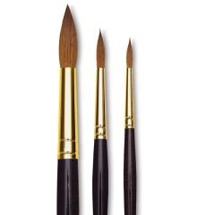 Da Vinci Harbin Red Kolinsky Sable Watercolour Brushes 1526Y are available in-store and online at The PaintBox, home of the widest range of traditional and progressive Art Supplies in Adelaide. At The PaintBox we source and stock quality art supplies which we import directly. This means that you have access to a greater variety and pay less. These are perfect for any artists from amateur to professional. They are also perfect for any budget size. Check out our loyalty rewards programme, which makes your artistic ambitions achievable. At these prices why not give these a go. Be sure to check out our other fabulous finds on our website and start saving today. Our knowledgeable staff at The PaintBox can guide you through our carefully selected ranges of art supplies for all applications. This is only a small selection of our stock. We sell many brands, weights, and textures, in-store only. Please call 08 8388 7776 to enquire. We offer art tuition too! DA VINCI HARBIN KOLINSKY RED SABLE BRUSHES CAN BE DELIVERED ANYWHERE WITHIN AUSTRALIA OR NEW ZEALAND